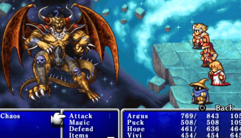 Final Fantasy 1 banner